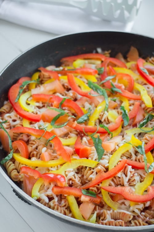No Boil Rotini Pasta With Plenty of Vegetables_7