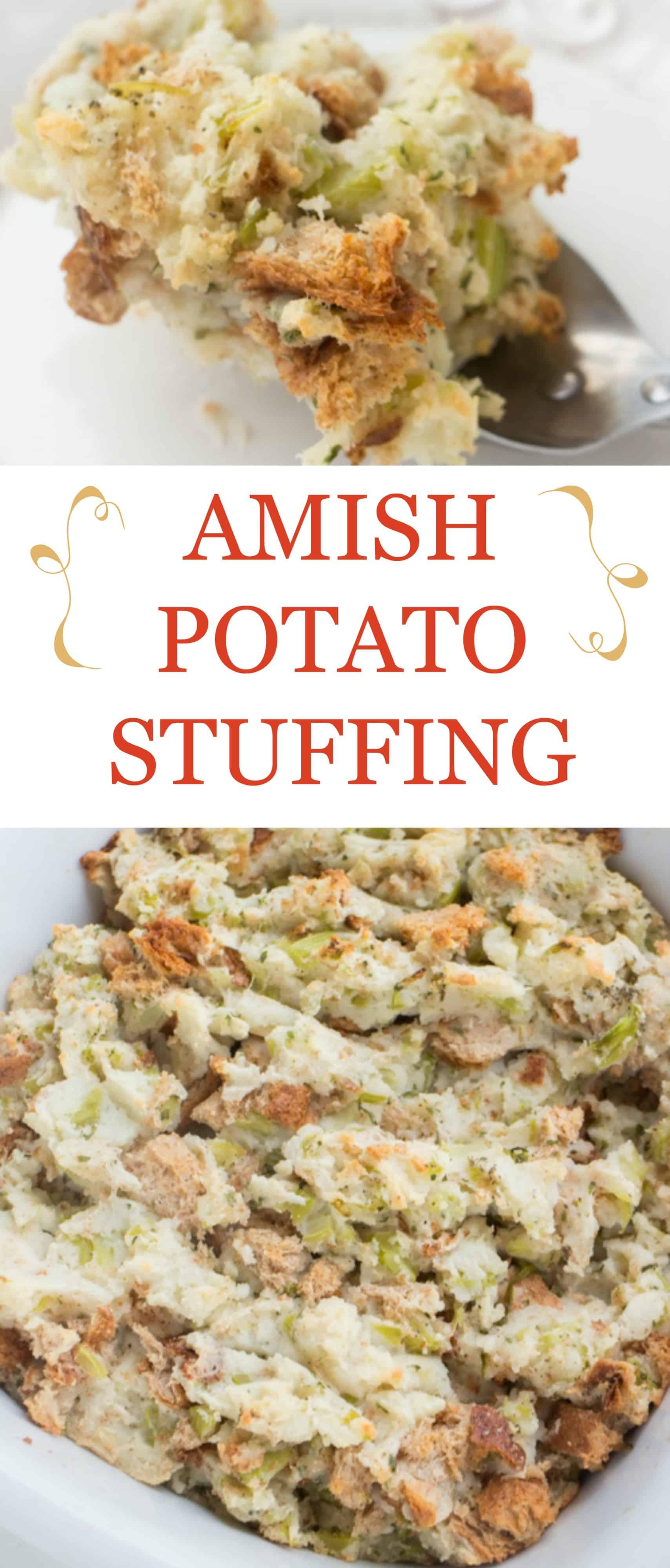 Amish Potato Stuffing Recipe Brooklyn Farm Girl
