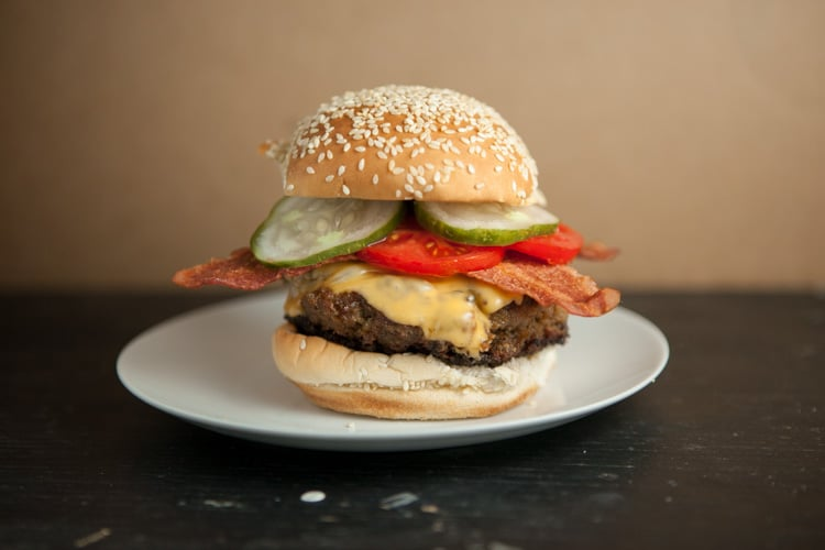 Turkey Peanut Butter Bacon Burger_2