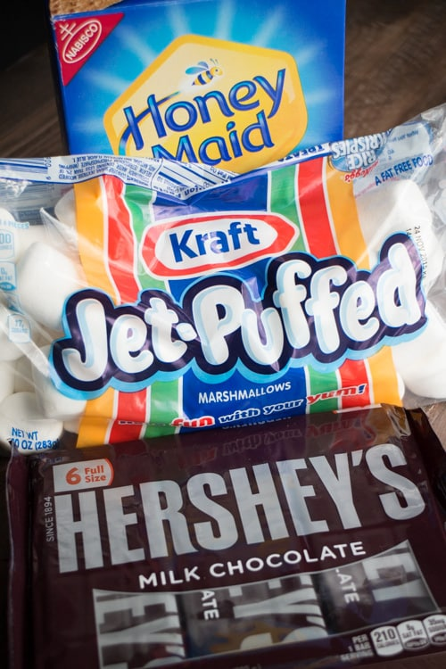 Crazy Candy Smores Indoors Microwave Recipe