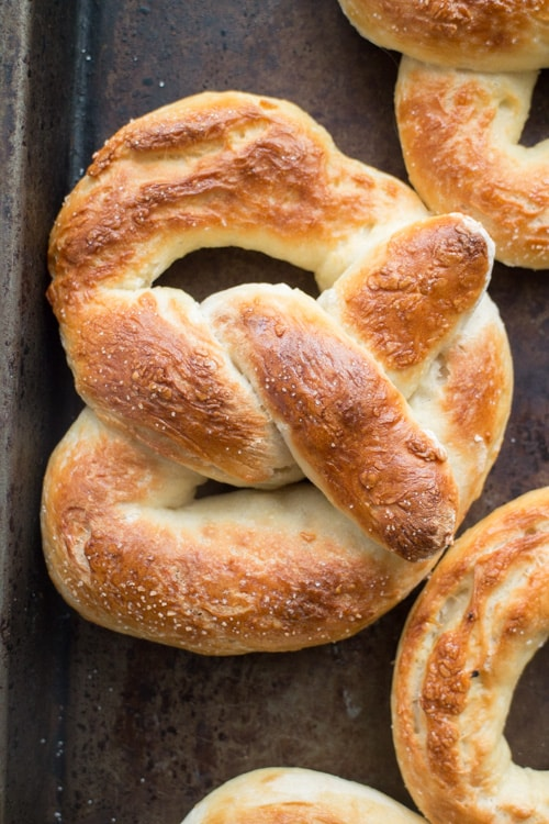 Recipe on how to make Easy Buttery Homemade Soft Pretzels at home - you won't believe it's this easy!