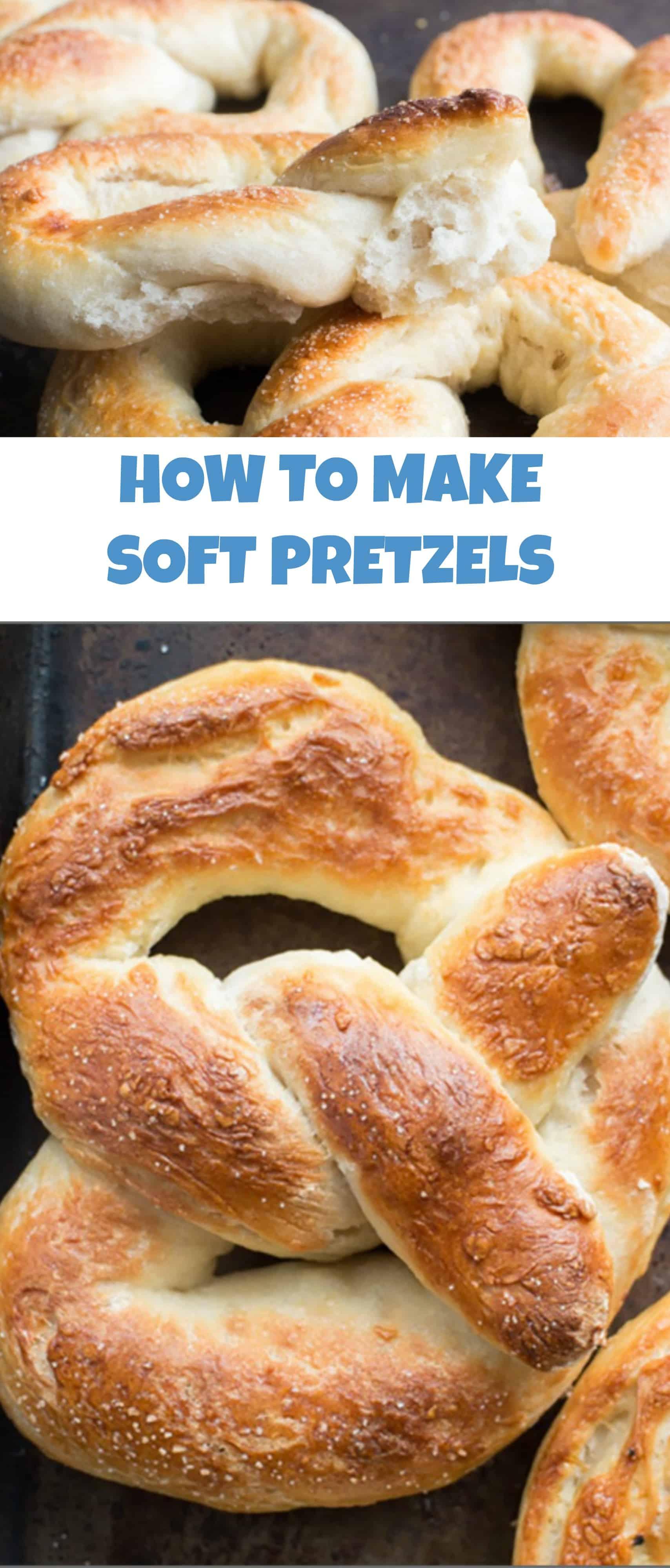 Easy Homemade Soft Pretzels Recipe - Brooklyn Farm Girl