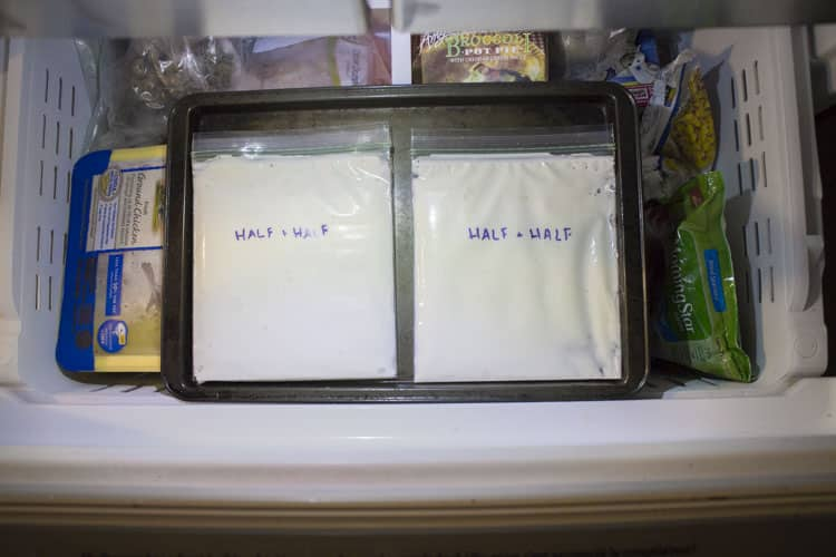 Do you have Half & Half milk close to the expiration date but don't want it go bad because of how expensive it was? Don't worry, you can freeze it!