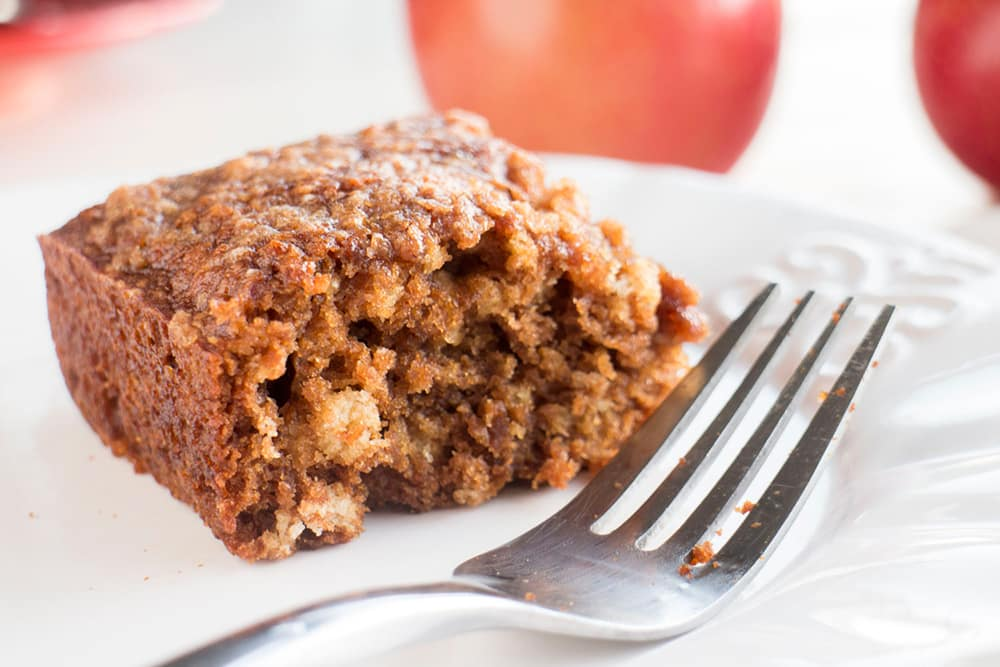 Apple Spice Crumble Bars is the perfect Fall recipe that uses leftover apple sauce. You will love the crumble on top!