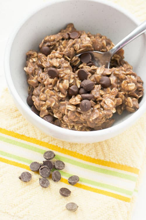 chocolate protein powder oatmeal