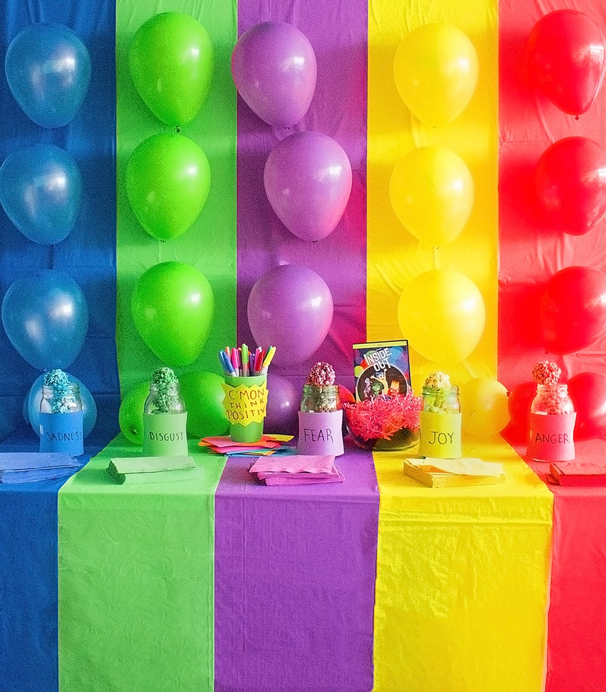 How To Throw A Inside Out Party!