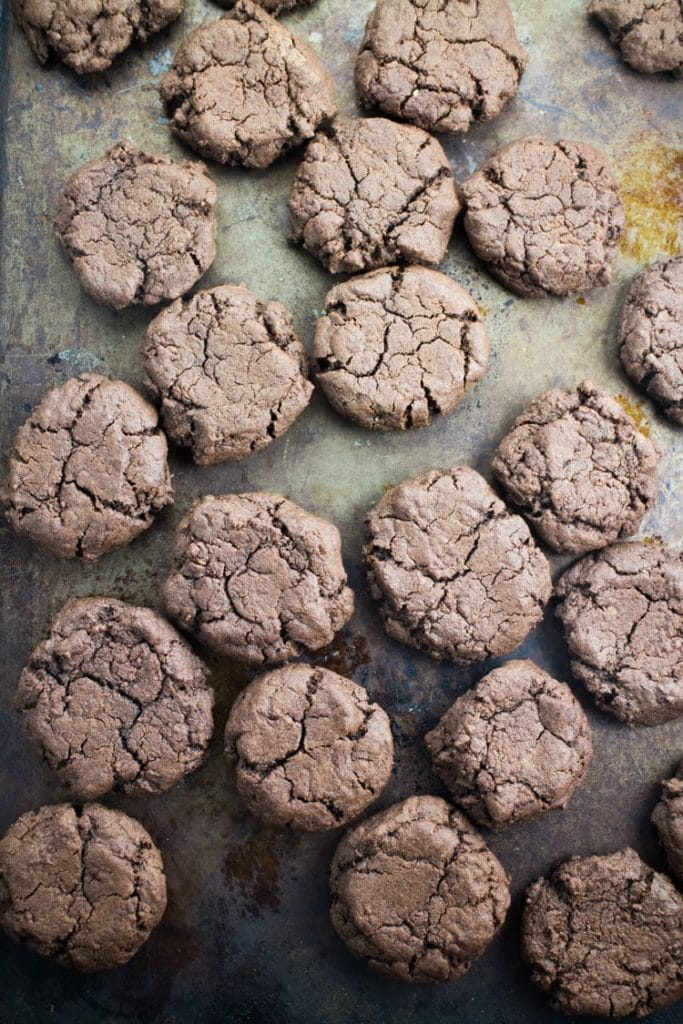 Scrumptious Chocolate Cookies With DA BOMB Peanut Butter Frosting. The most popular cookie that friends and families ask me to make! Recipe makes 2 dozen cookies.