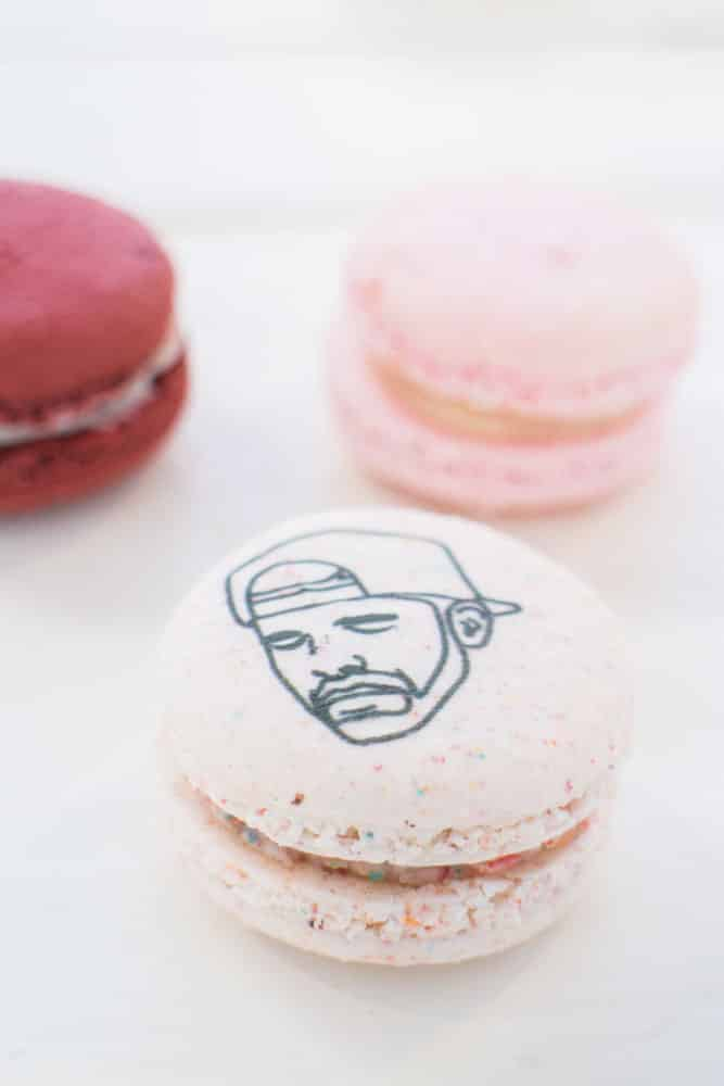 Drake Fruity Cereal Macarons!