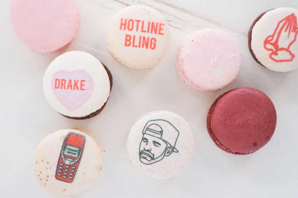 Drake Macarons from Dana's Bakery