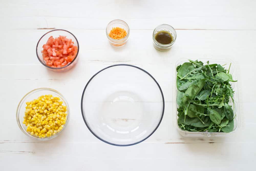 Mexican Arugula Corn Salad