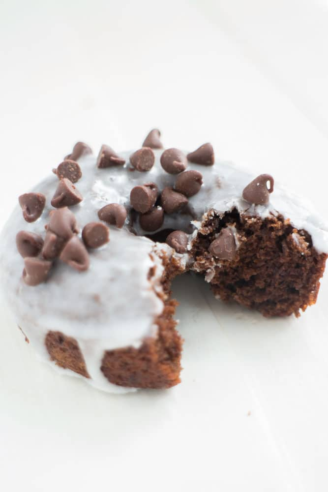 How to make Instant Coffee Chocolate Donuts with Vanilla Frosting! These donuts are delicious! Bonus how to recipe video included!