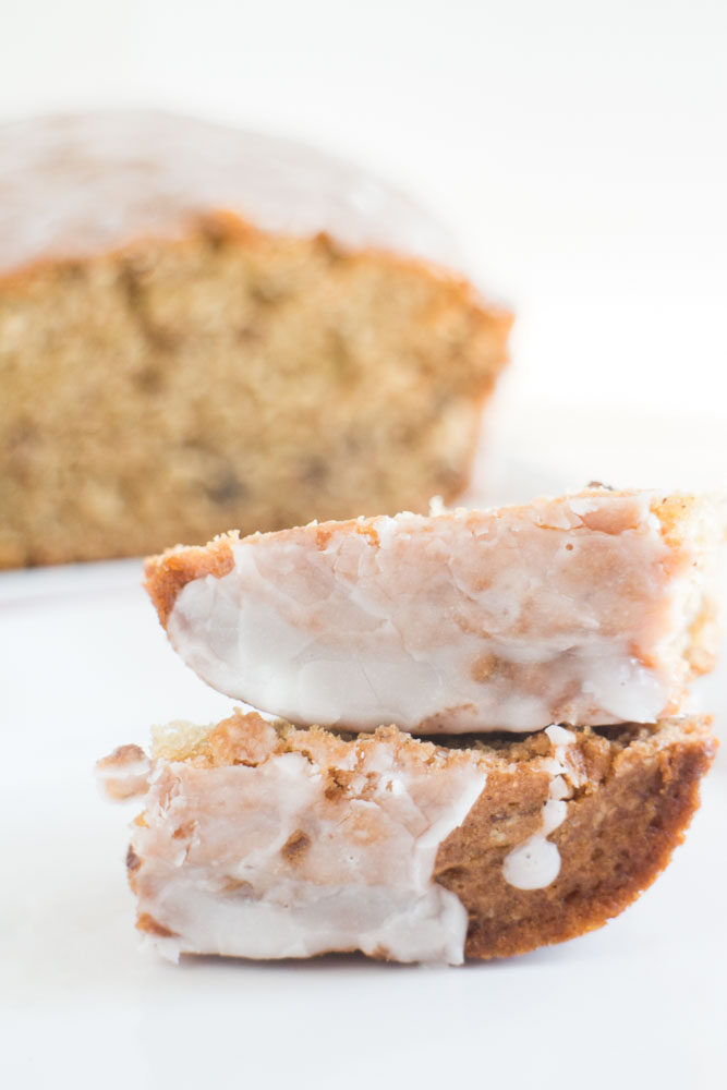 If you are looking for a delicious recipe to use your garden cucumbers in - this is it! The Sugar Glazed Cucumber Bread is made with 1 cup grated cucumber, similar to zucchini bread. A powdered sugar glaze is poured on top once baked!