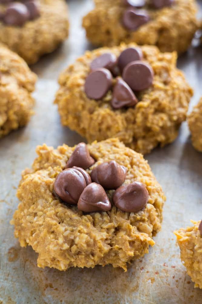 5 Ingredient Sugar Free Pumpkin Cookies