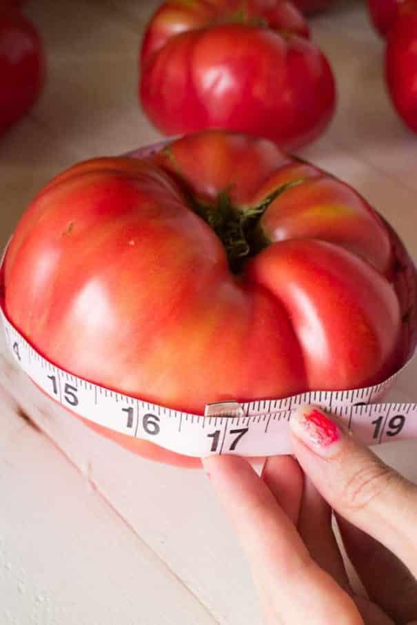 Giant Heirloom Tomatoes