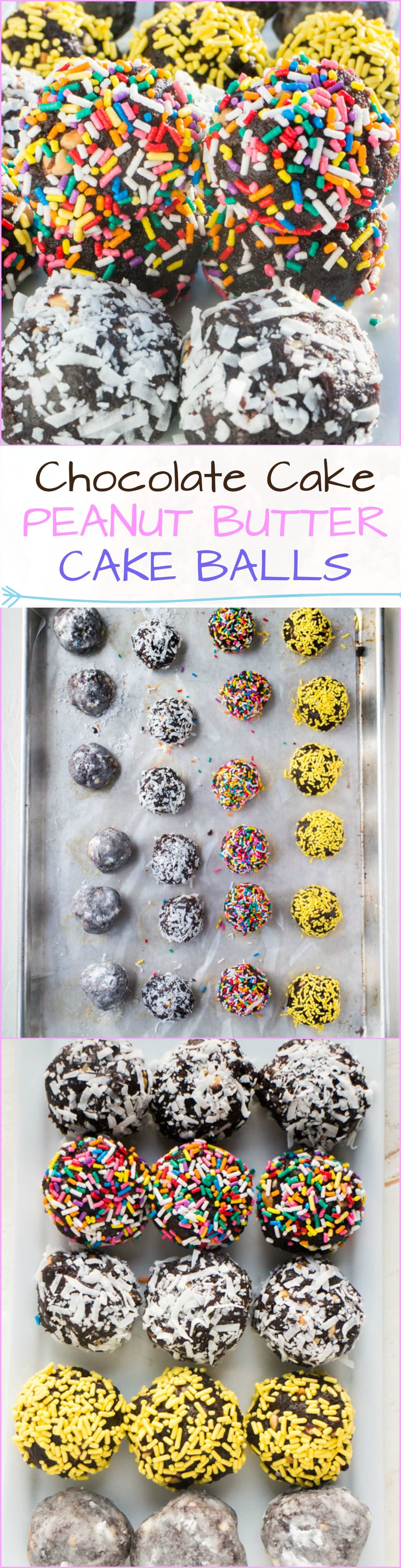 how to make chocolate peanut butter balls with cocoa powder