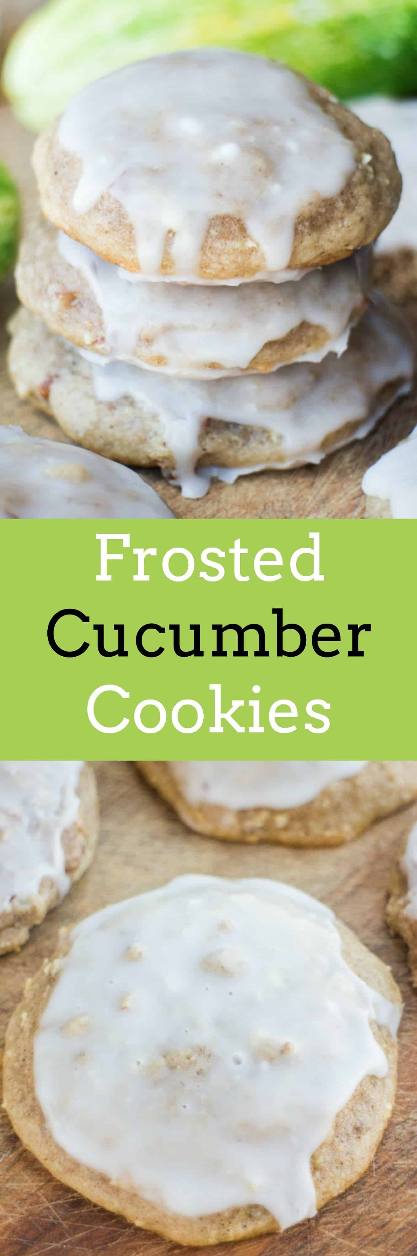 Frosted Cucumber Cookies Brooklyn Farm Girl