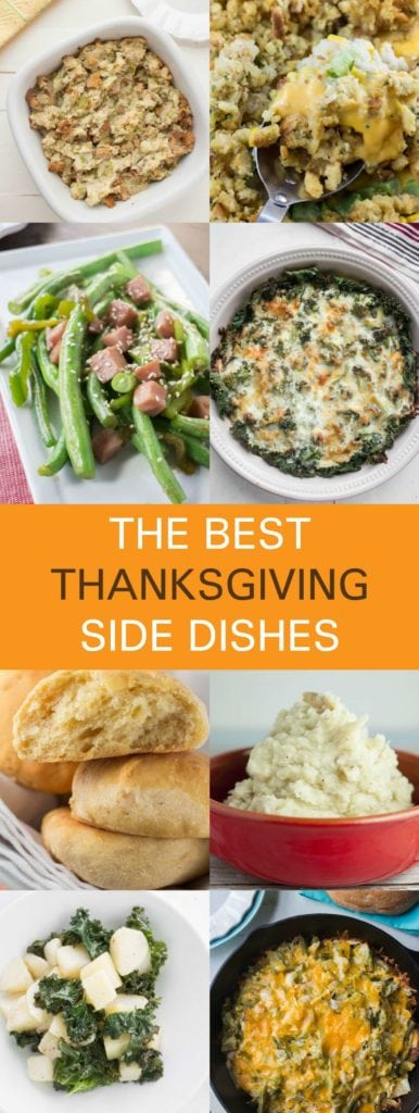 The best Thanksgiving Side Dish recipes are here! From potato stuffing, to vegetables, to cheesy casseroles, to rolls - find your entire menu here!