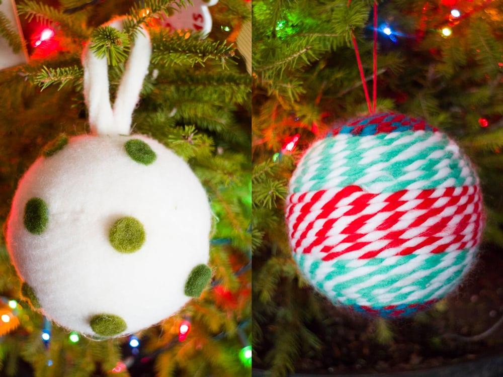 2016 Christmas Tree & New Ornaments