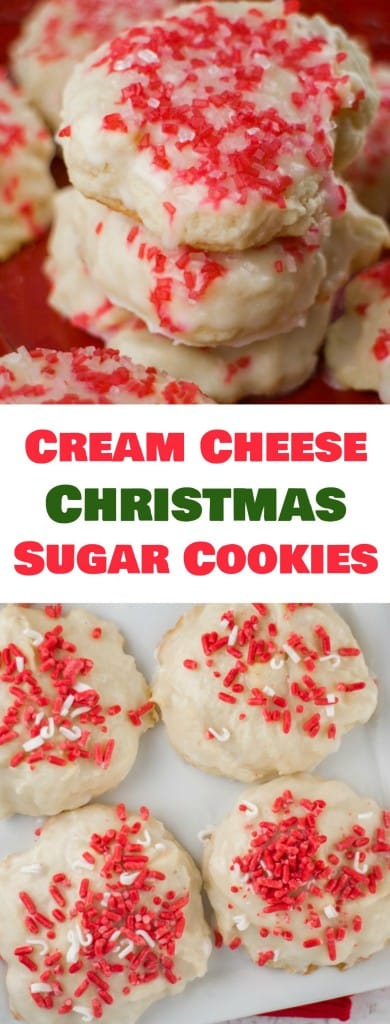 CREAM CHEESE Christmas Sugar Cookies These Easy To Make Holiday Are So Soft Because