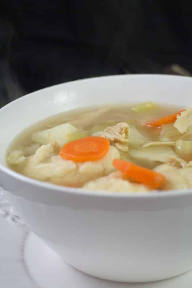 Flour Dumplings in Soup