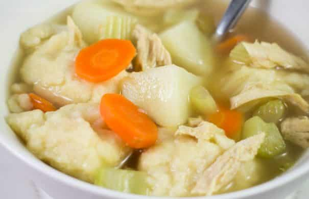 Homemade Chicken and Dumpling Soup