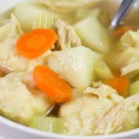 Homemade Chicken and Dumpling Soup