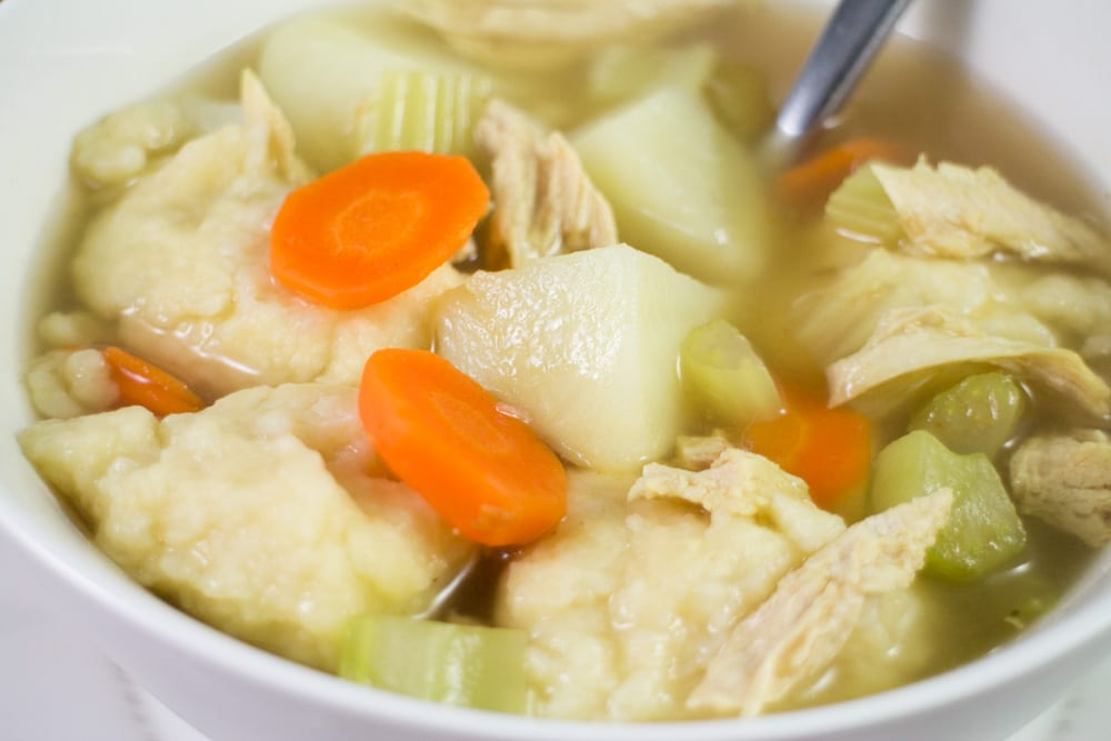 Dumpling and Vegetable Soup