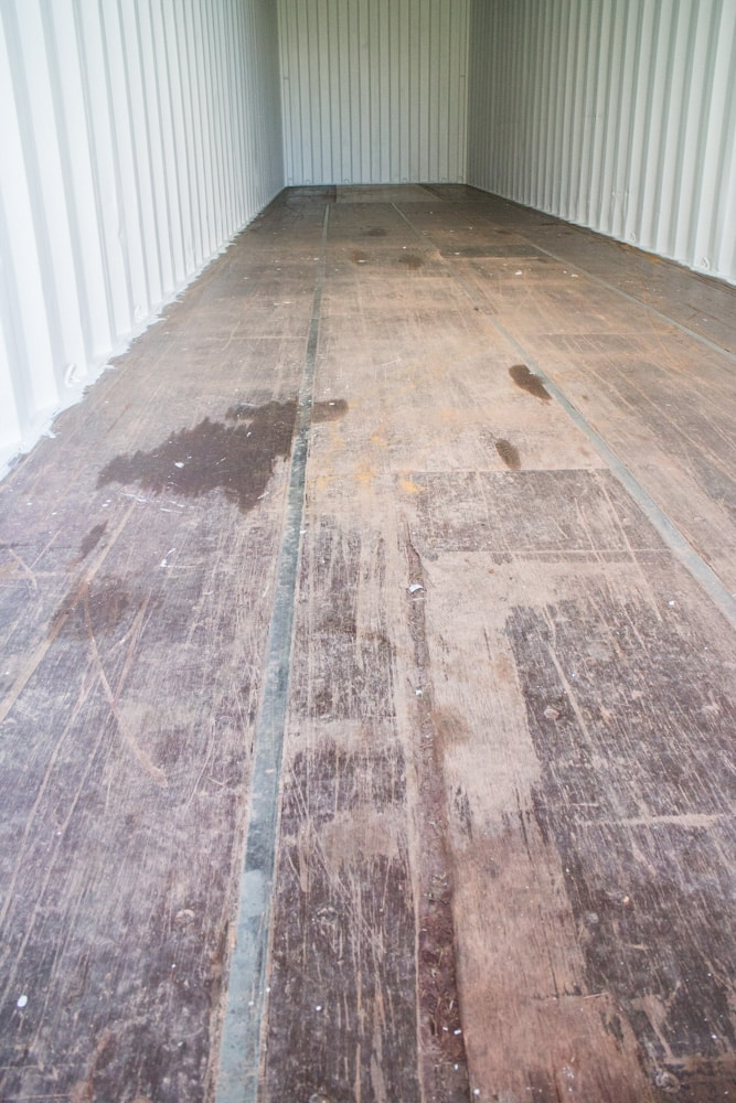 Our New Shipping Container Flooring Brooklyn Farm Girl