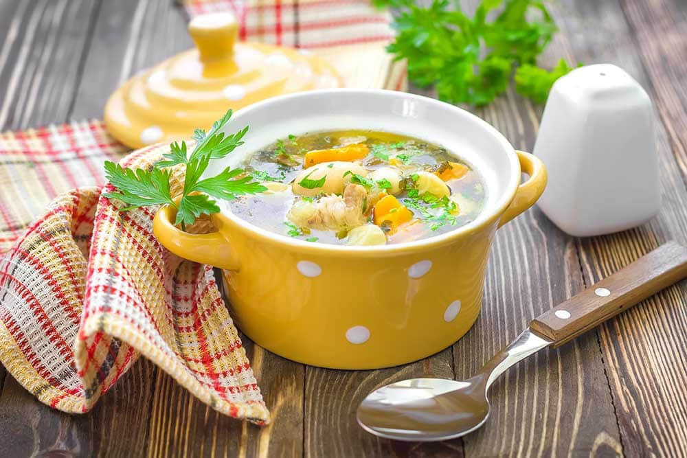 SLOW COOKER Shredded Chicken and White Bean Soup is packed with healthy, hearty vegetables which is going to warm up your dinner table! This recipe is easy to make - throw all the ingredients in your crock pot for 8 hours and it's ready! Even better - this meal is economical and doesn't cost much to make! We love this as a Fall and Winter meal!