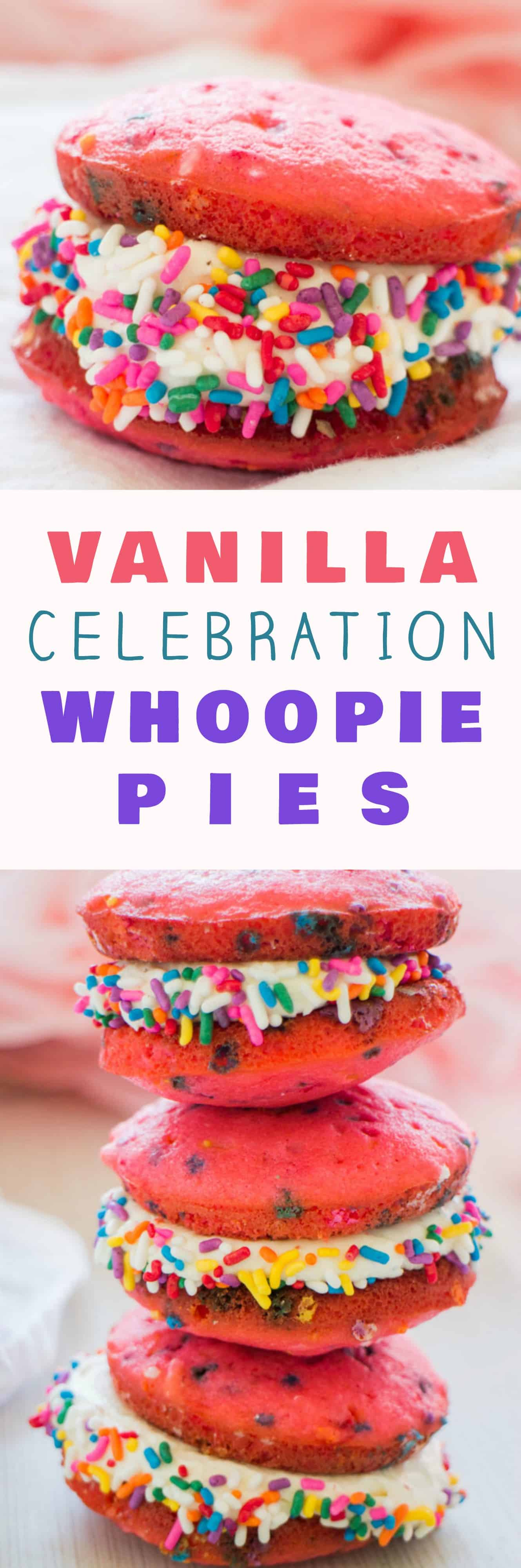 BIRTHDAY PARTY Vanilla Whoopie Pies This Easy Recipe Makes Delicious Cake With