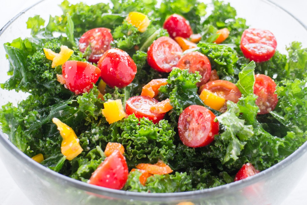 Kale Rainbow Salad