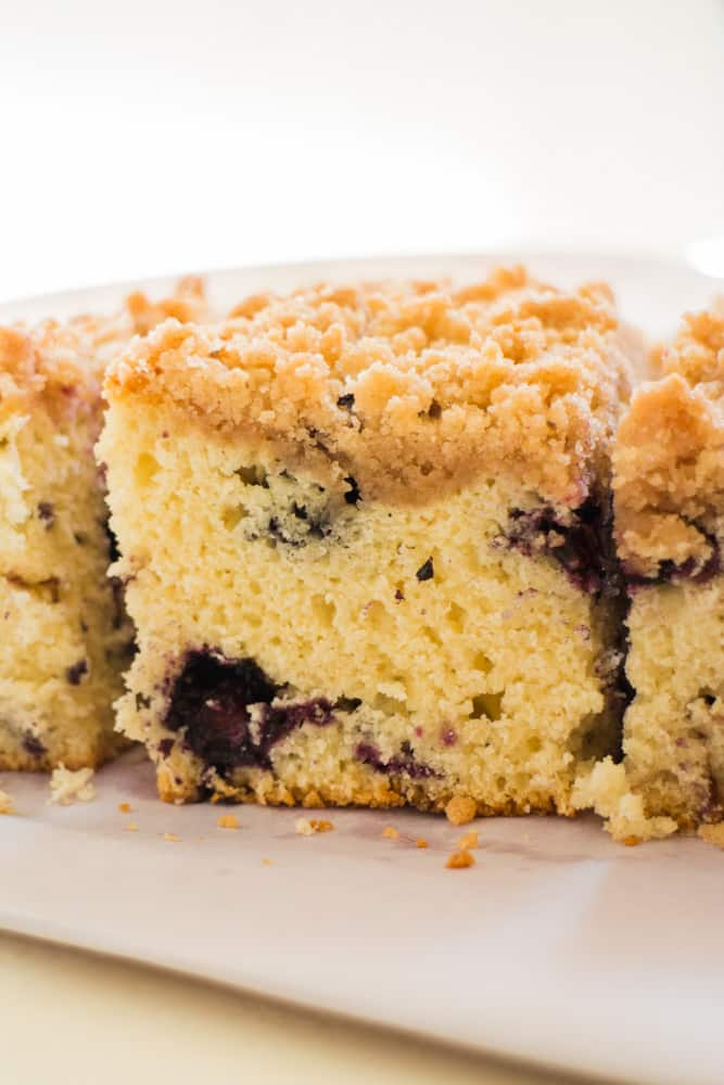 Best Blueberry Buckle Coffee Cake