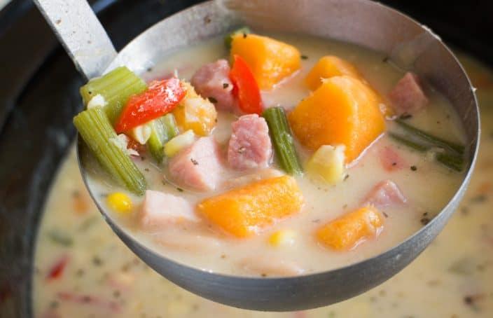 Sweet potato and molasses soup recipes