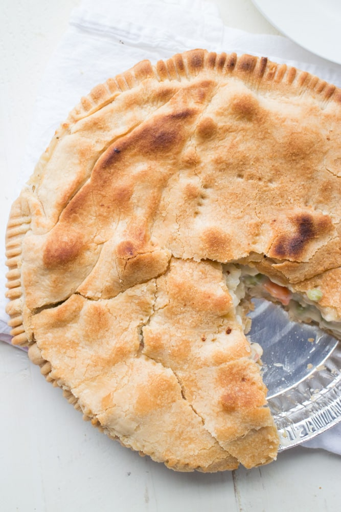 Flaky Crust Pot Pie