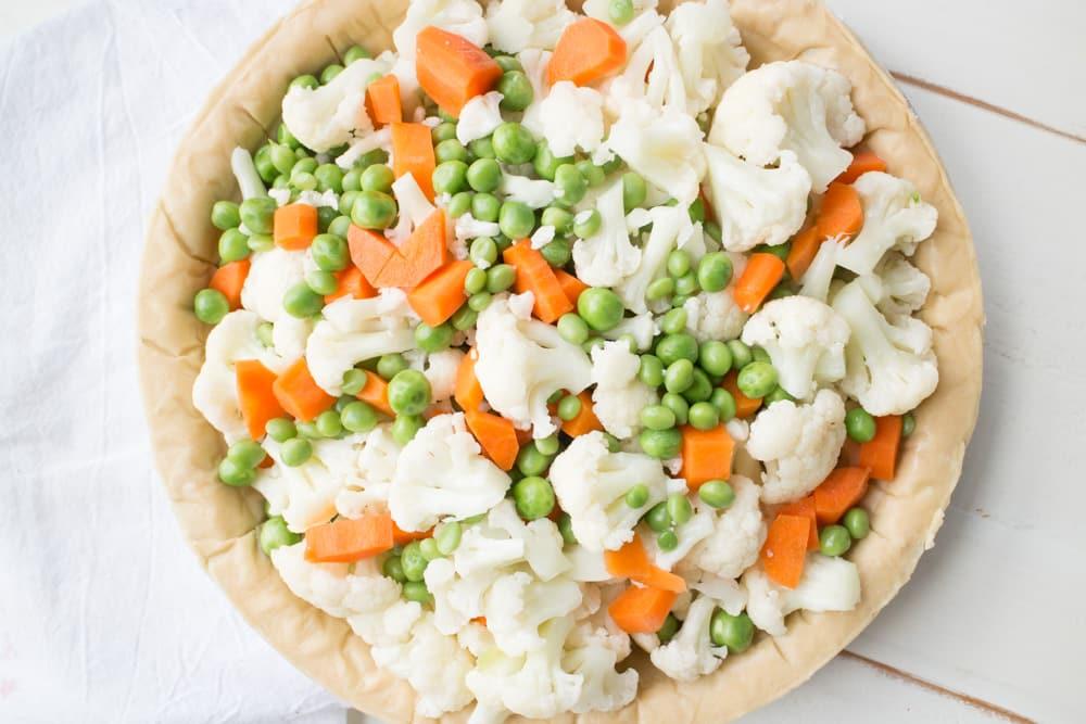Vegetables in Pie Crust