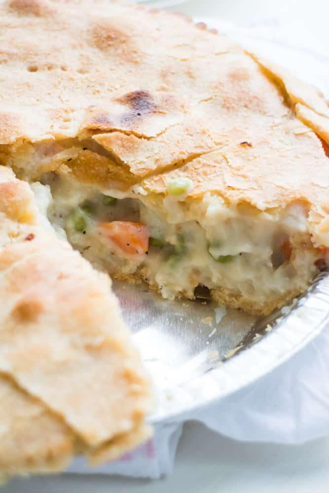 Creamy Vegetarian Pot Pie