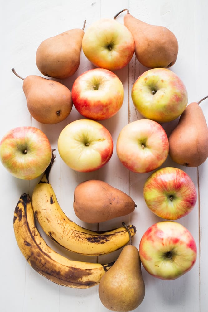 Apples, Pears and Bananas