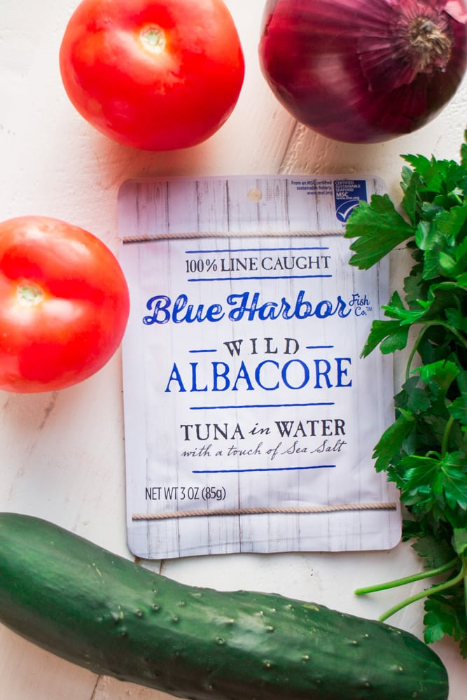 Blue Harbor Tuna in Water Pouch