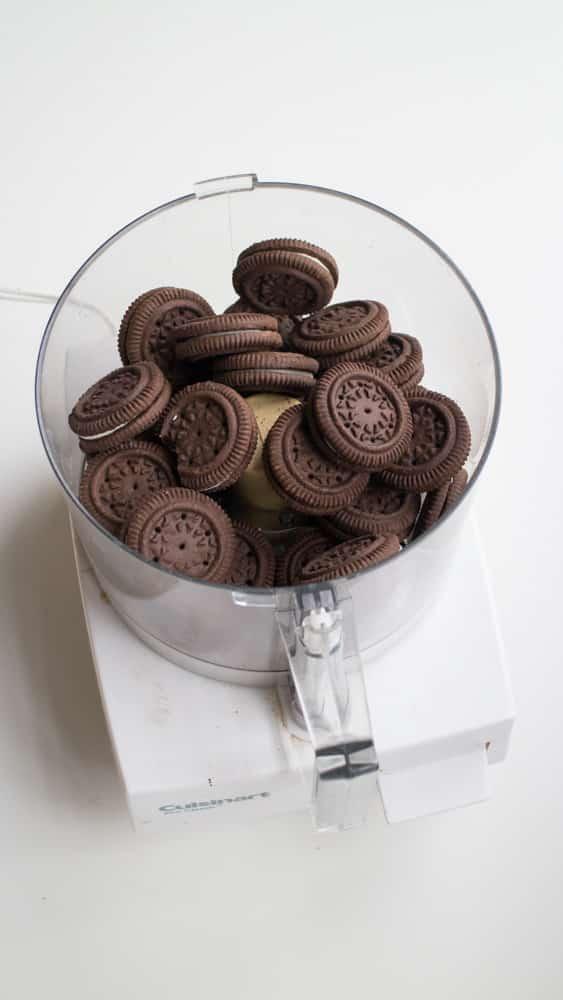 Cookies in Food Processor
