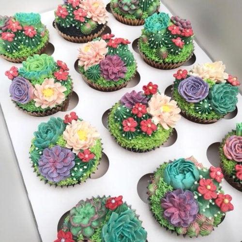 Garden Cupcakes - Brooklyn Farm Girl