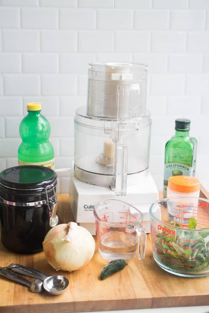how to make mint chutney