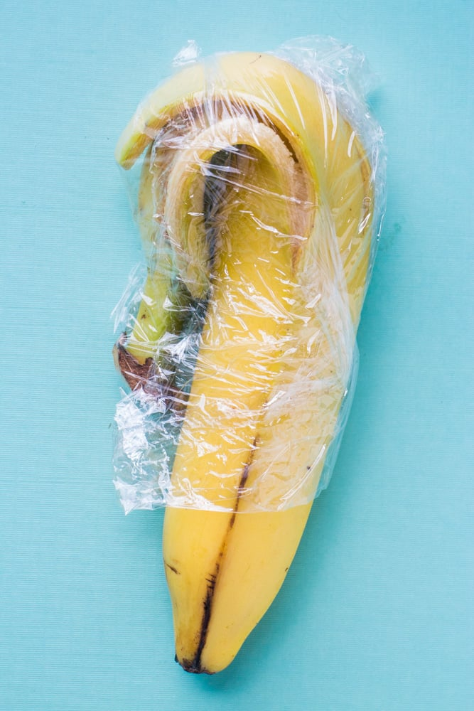 How to Store Half Eaten Banana