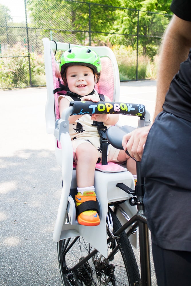 Topeak Baby Bike Seat with 1 Year Old