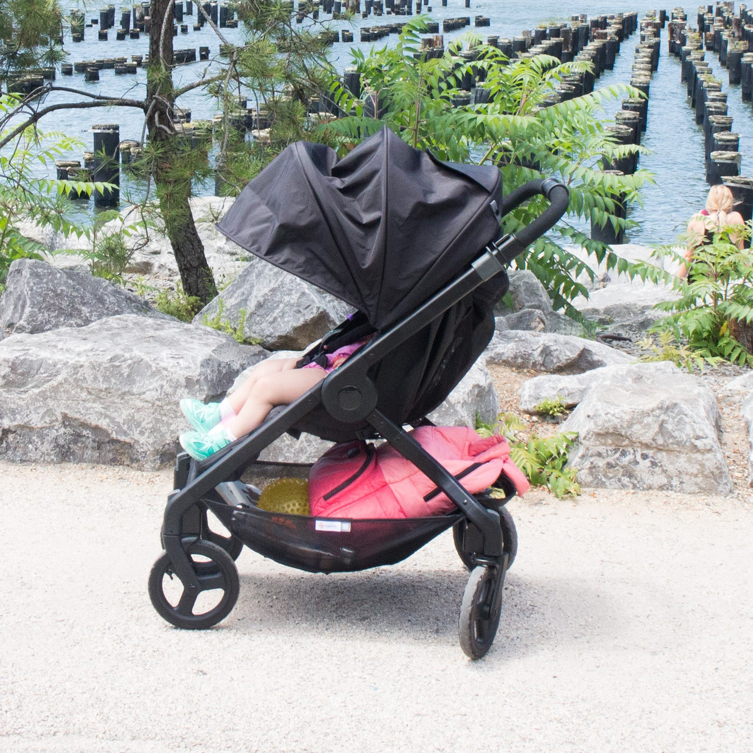 Stroller with Huge Sun Canopy