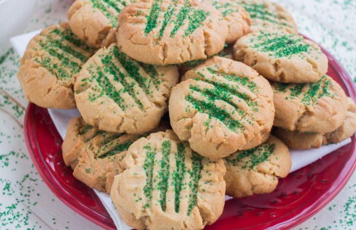 Peanut Butter Christmas Sugar Cookies Easy Family Recipe