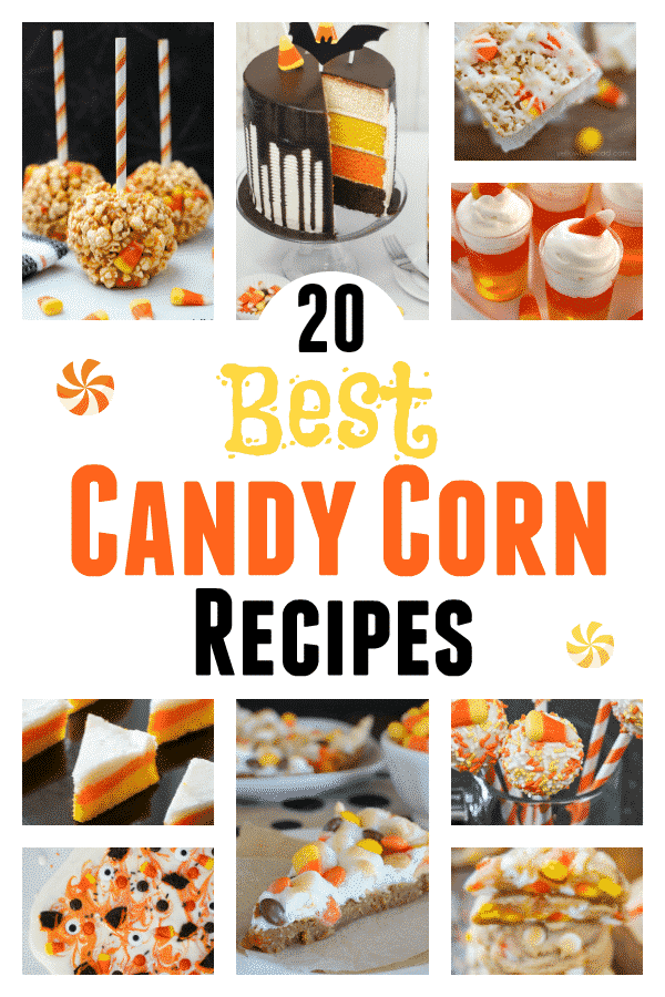 20 Best LEFTOVER Candy Corn Recipes! Every Halloween we're stuck with leftover candy corn, so here are delicious recipes to use it up! From candy corn cookies, cakes, popcorn balls and snack mix -learn how to create some amazing, delicious, and even healthier, fall season candy corn treats.