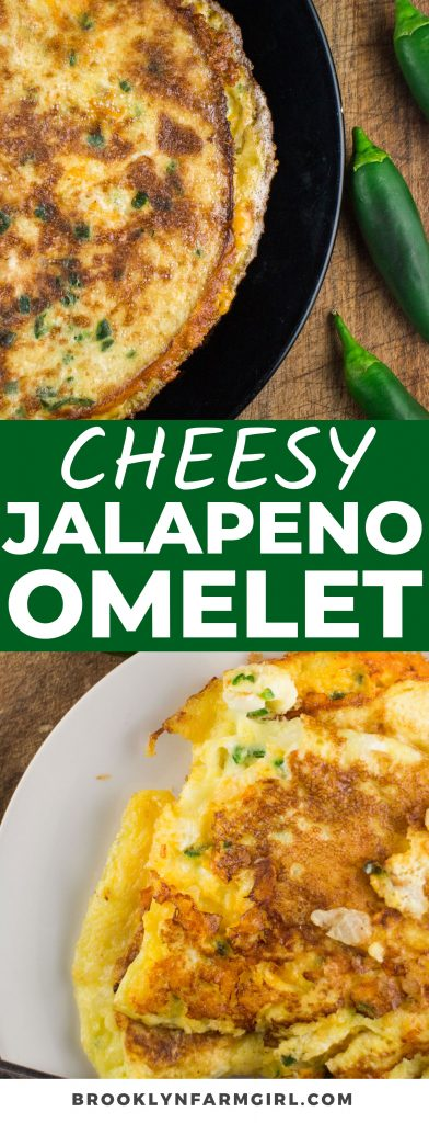 Spice up your morning with this easy and Cheesy Jalapeno Omelet. Made with eggs, jalapeno peppers, and your favorite cheese, this savory pepper omelet is the best way to start your day.