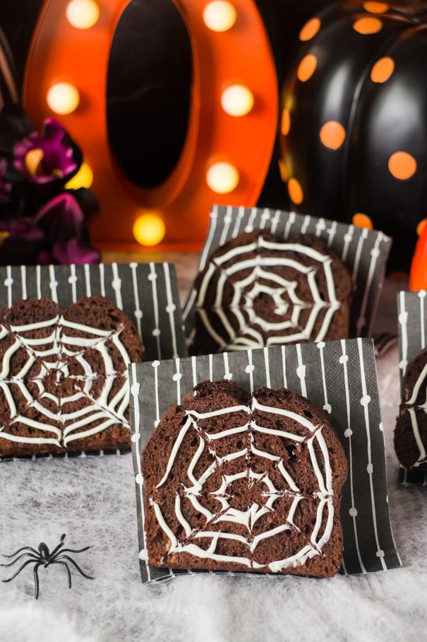 Easy Hallloween Desserts: Chocolate bread