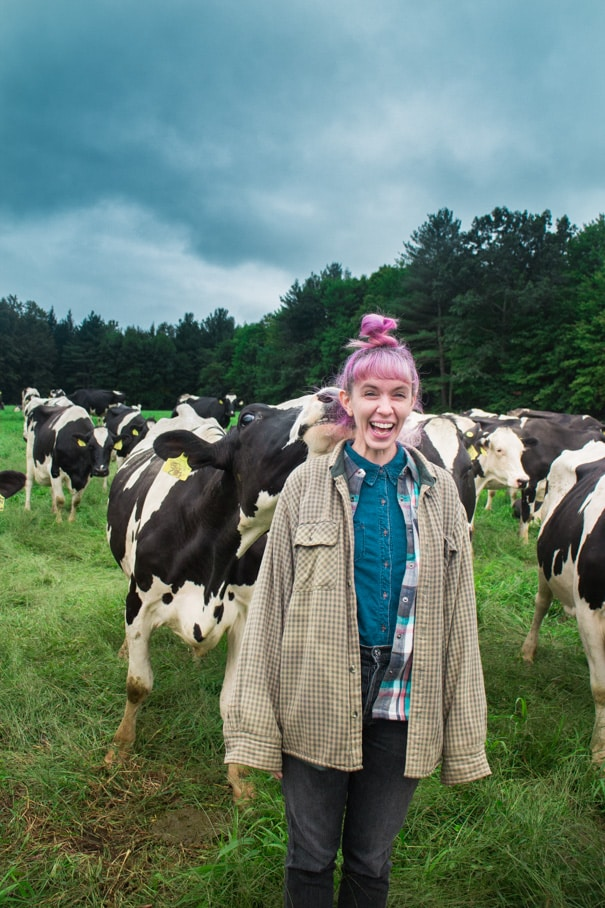 Stonyfield Organic Dairy Farm Blog Tour