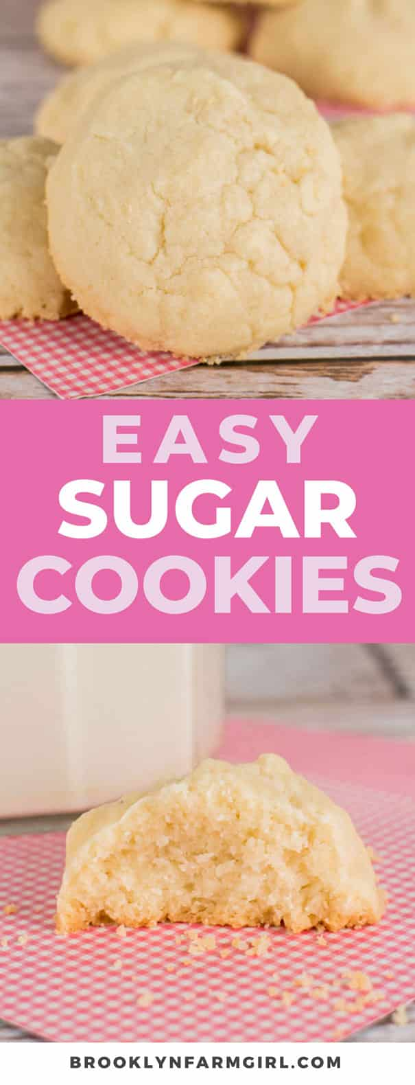 These super easy sugar cookies are soft, light, and they simply melt-in-your-mouth with each bite. These are one of my family's favorite Christmas cookies!